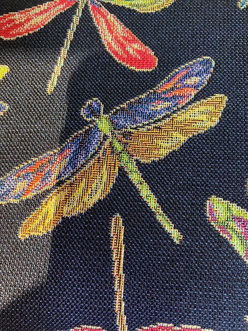 Dragonfly upholstery fab