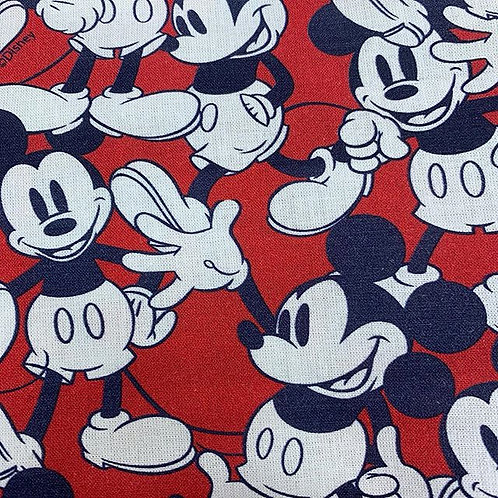 mickey mouse cotton