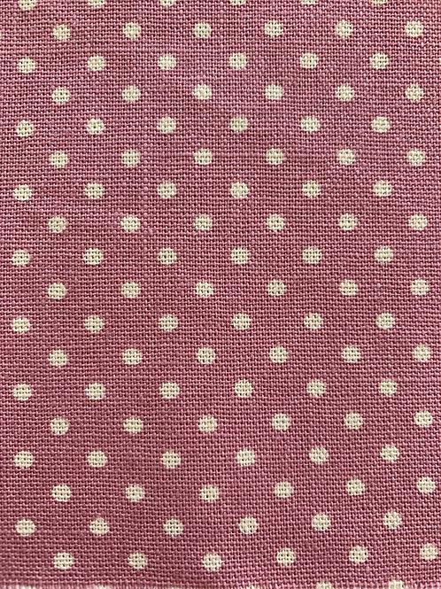 Dusky Pink Woven Spot