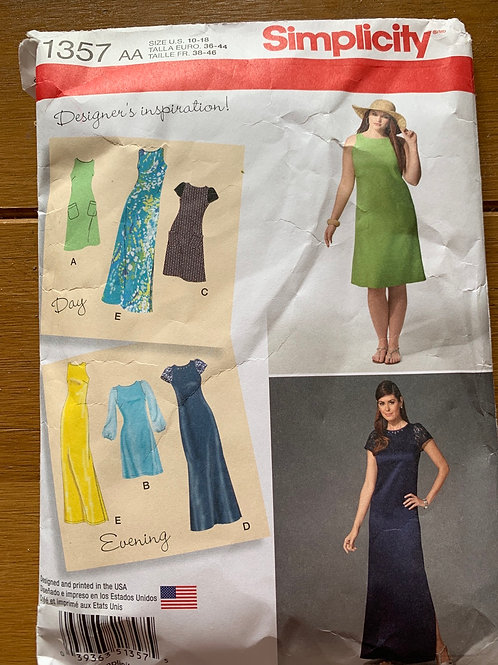 Simplicity Dress Pattern