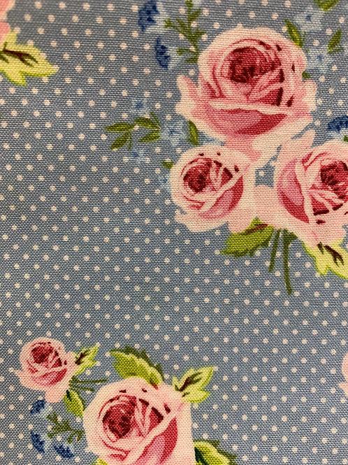 Blue spotty rose
