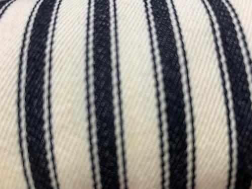 Ticking woven cotton