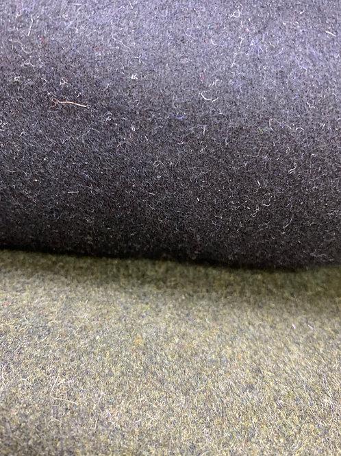 Coating wool Black
