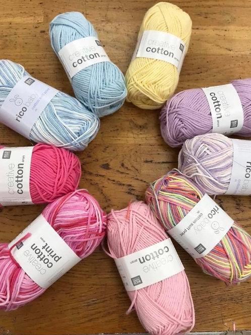 RICO creative cotton Arran