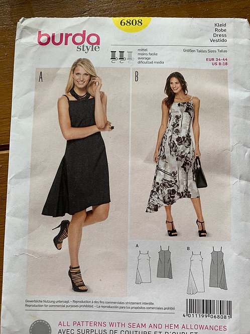 Burda Dress Pattern