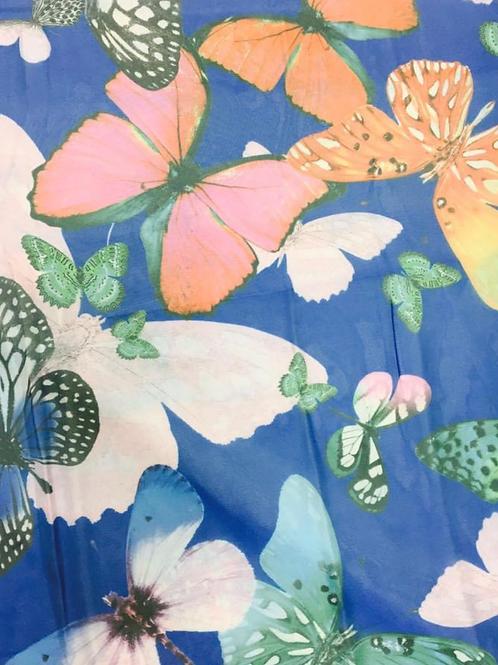 Chiffon blue butterfly