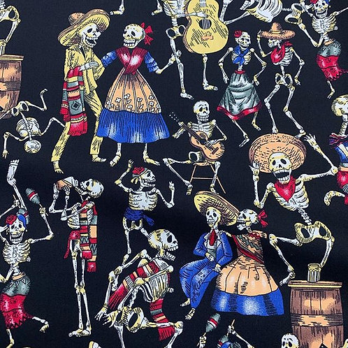 Day of the dead cotton