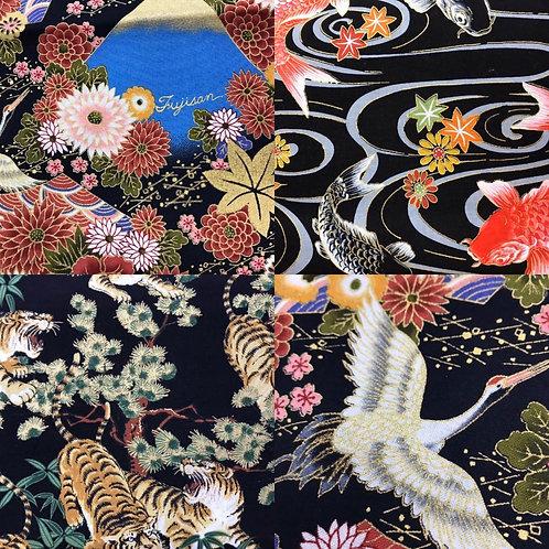Japanese 100% cotton prints