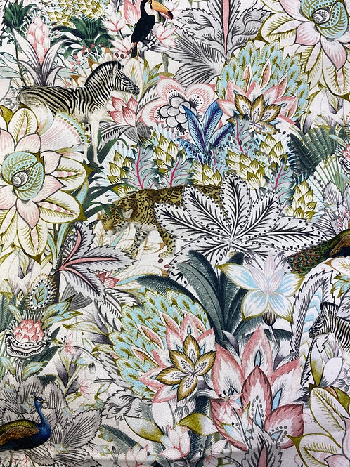 Jungle cotton canvas
