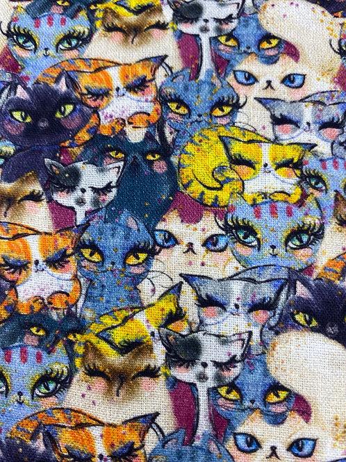 Crafty Cats cotton