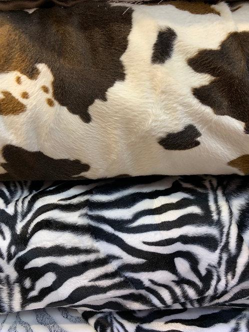 velvet animal print
