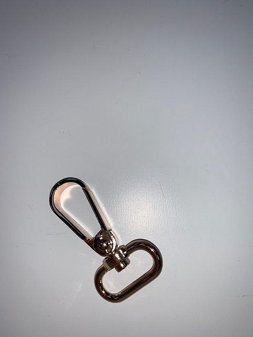 Bronze bag clasp