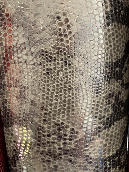 Grey/Black Snakeskin