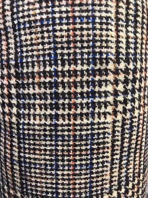 wool mix Plaid