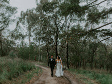 AMY & PAUL'S FIRST LOOK/BUDGIE SMUGGLER WEDDING