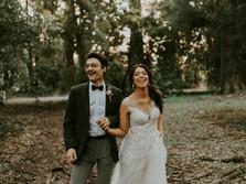 DAVID & BRONTE'S DIY HIRED HALL WEDDING