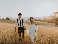 JES & COREY'S PRIVATE PROPERTY BOHO WEDDING