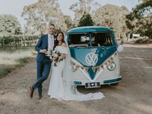BERNARD & SARAH'S TUCKS WINERY WEDDING