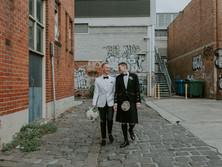 GRANT & ANDREW'S LUMINAIRE CITY WEDDING