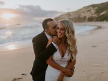 AMY & MATT'S ALL SMILES SORRENTO BEACH WEDDING