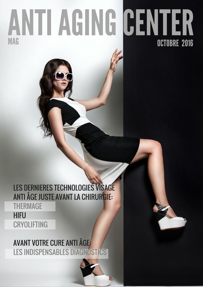 ANTI AGING ENTER Mag d'octobre est paru