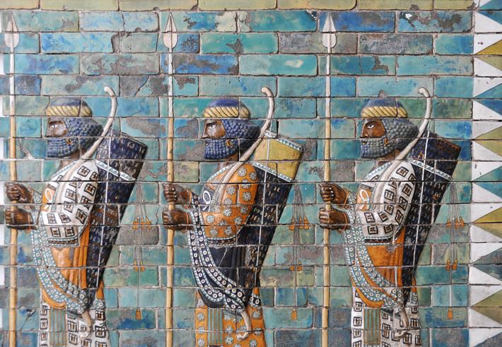 Sémiramis reine de Babylone.