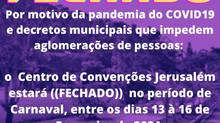 Centro de Convenções Jerusalém ((FECHADO))