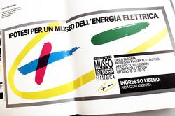 Enel Immagine Coordinata Museo dell'Energia Elettrica