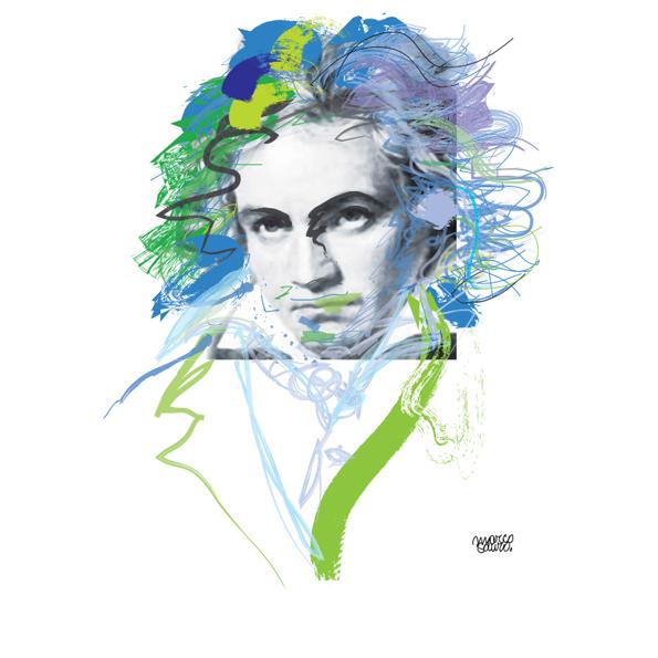Ludwig van Beethoven ©Sauro