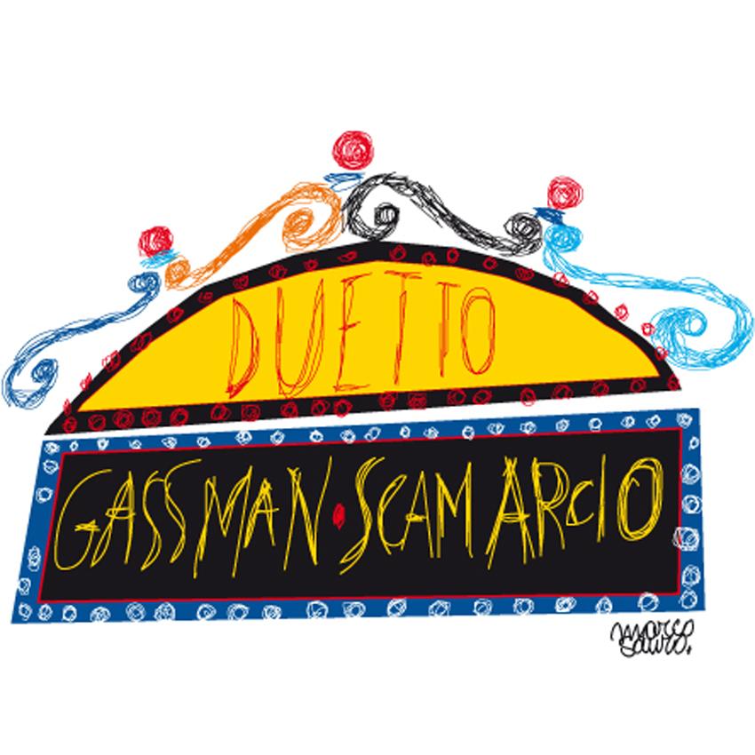 Gassman Scamarcio ©Sauro