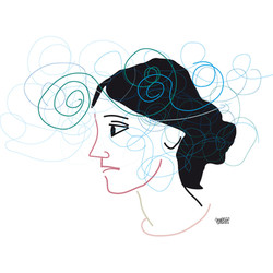 Virginia Woolf ©Sauro