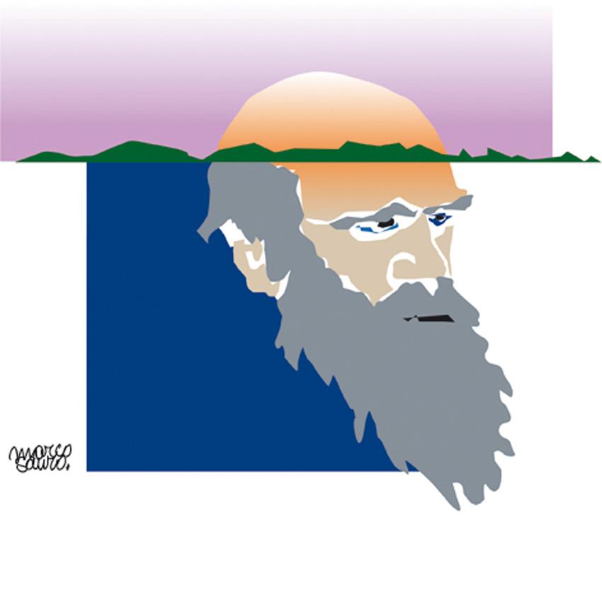 Charles Darwin ©Sauro