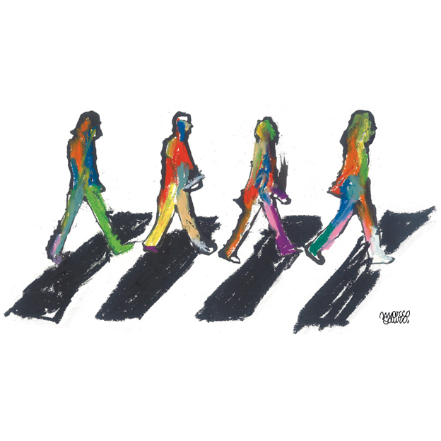 Beatles Abbey Road ©Sauro