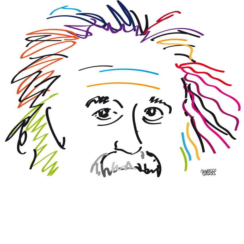 Albert Einstein ©Sauro