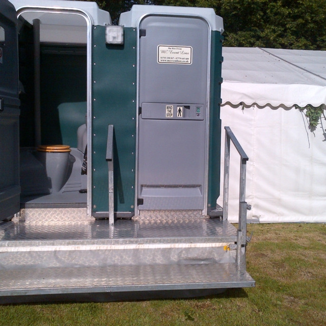 1 + 1 ECONOMY TOILET HIRE NEXT TO MARQUE