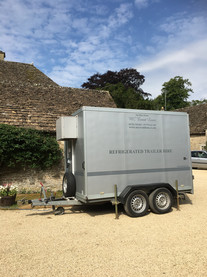 Refrigerated trailer hire events festiva