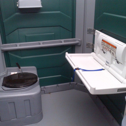 disabled toilet and baby changing facili