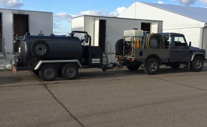 tanker emptying service