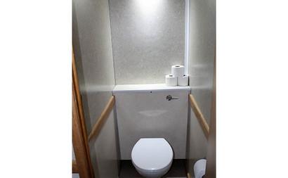 3+1 luxury toilet hire seating inside.jp