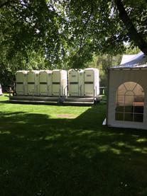 economy toilet trailer 3 + 1