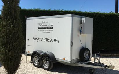 Refrigerated trailer hire weddings corpo