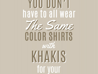 You want to wear what?