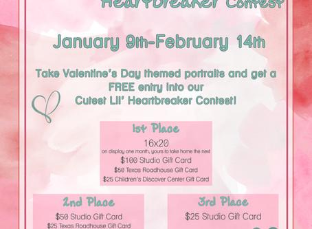 Enter Out Cutest Lil' Heartbreaker Contest!