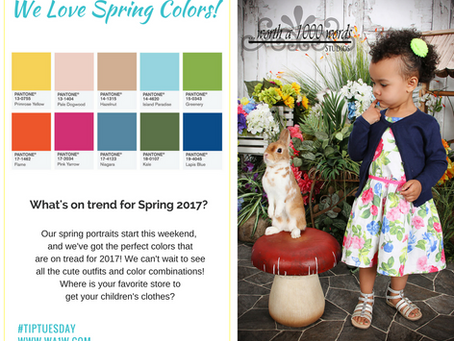 What are the trendy Spring colors?