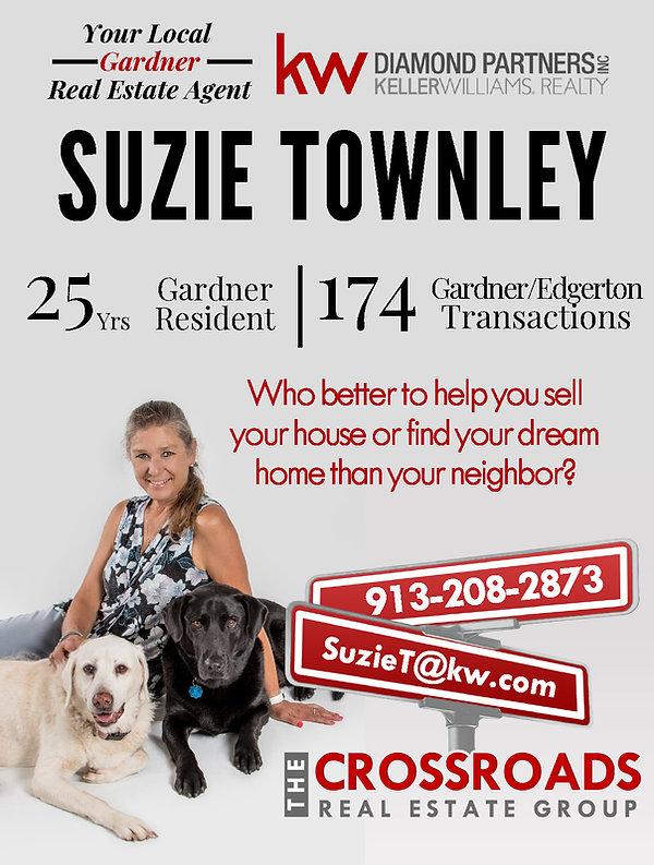 Suzie Townley- Realtor +Gardner Kansas+