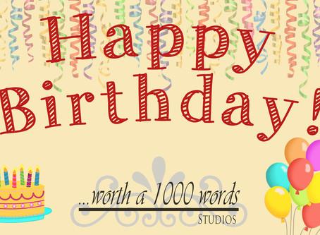 Come Celebrate Our Birthday!