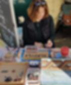 Ruth at work on the Mosaic.jpg