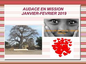 Mission Audace Février 2019
