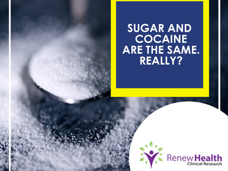 Sugar and Cocaine Are The Same. Really?