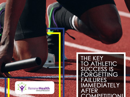 Forgetting Past Failures Is The Key To Athletic Success